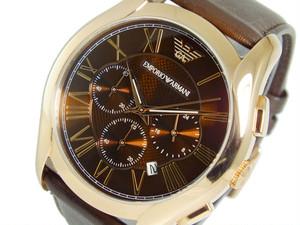 エンポリオ アルマーニ EMPORIO ARMANI クオーツ クロノグラフ メンズ 腕時計 AR1701 ブラウン