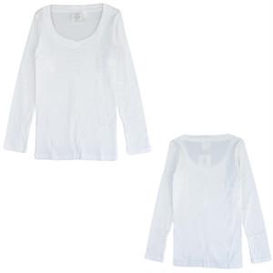 sirenemermaid(シレーヌマーメイド)浅UVネック長袖Tシャツ(ロング丈) MWAB5004LLS