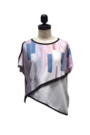 koll / paneled t-shirt / PR