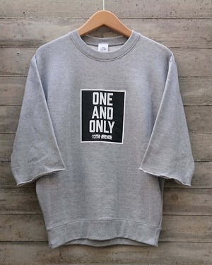 ONE AND ONLY 3/4 sweat col.gry