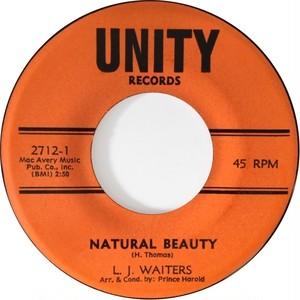 L. J. Waiters – Natural Beauty / Since I Fell For You