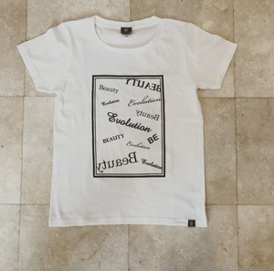 BE Tシャツ デザイン (WHITE)