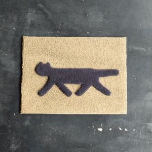 F/style RONDO cat mat 玄関マット/犬猫用マット CHARCOAL GRAY