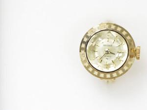 【ビンテージ時計】1971年9月製造 セイコー指輪時計 日本製 当時の定番モデルになります 【デッドストック品】