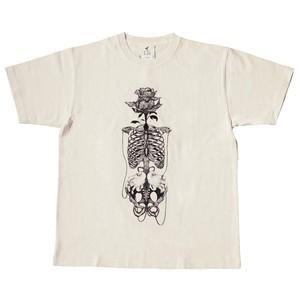 ピグメントダイTシャツ 「蟻余る富」