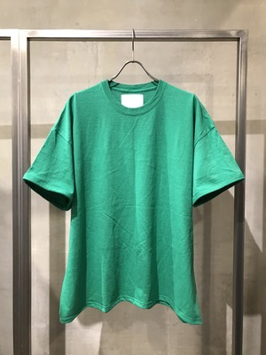 TrAnsference fixed proportion loose fit T-shirt - green(dull)