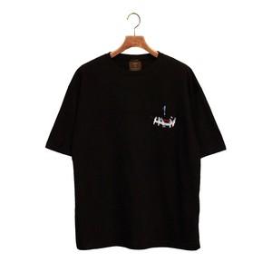KUNCHI  TEE - black  <KUJIRA>