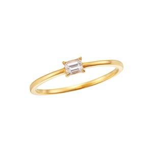 K18YGダイヤモンドリング 010201009391