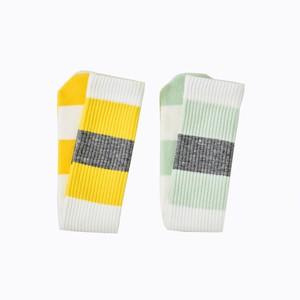 EZ DO by EACHTIME.   Striped Tube Socks