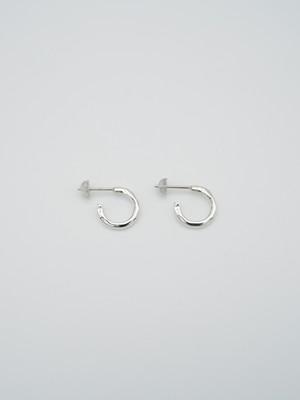 raw hoop pierce xs silver(再入荷)