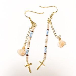 Beads cross pierce