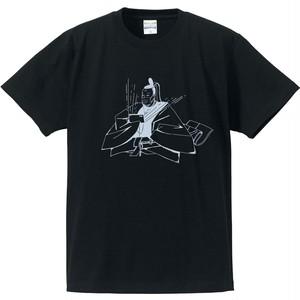 十三代目梅雨将軍公式Tシャツ(ブラック)  XXLsize