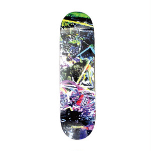 COLOURS ONE OFFS STAMATIS ABSTRACT JAPAN LIMITED DECK 8.3INCH デッキテープ付き(EBONY GRIP)