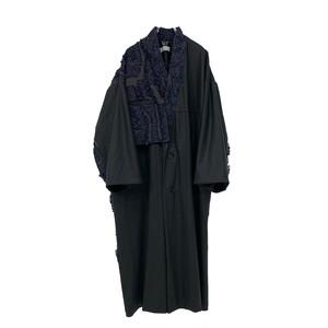 Haori Coat(dark green/inbi blue)