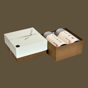 大缶2本箱 特選 山壽/八十八夜の茶