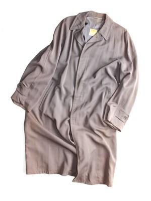 Vintage gabadine bal-collar coat