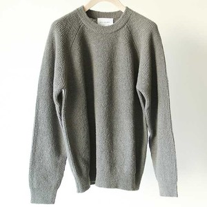 STILL BY HAND  【 mens 】 loop yarn knit