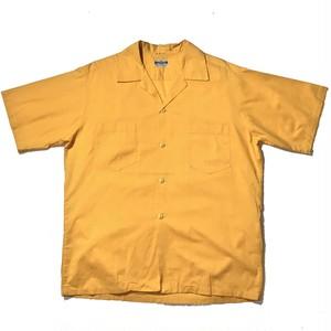 """MONOGRAM"" S/S Open Collar Shirts"