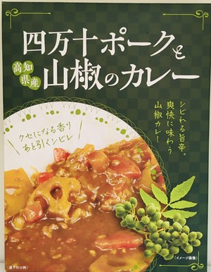 【新発売❗️ポークと山椒が美味‼️】四万十ポークと山椒のカレー