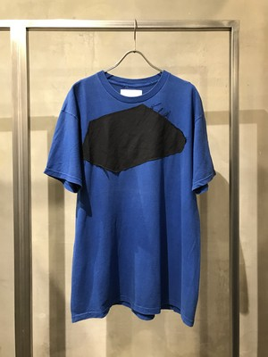 TrAnsference hidden graphic patch T-shirt - blue (dull)
