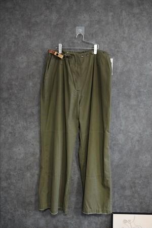 """発掘!!【2021緊急 SALE】 keisuke yoneda military super wide pants """"Paul"""""""