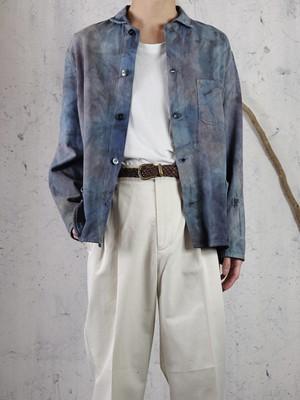 Euro tie-dye work jacket