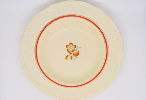 イギリス ヴィンテージ スーププレート(WH Grindley & Co)1936-54年 25cm #D002-02