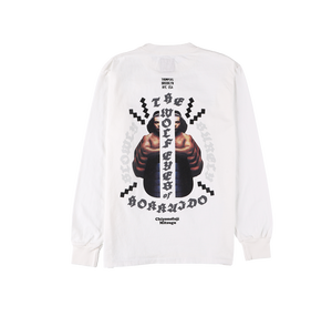 Chiyonofuji L/S Tee (WHITE)[TH9SWOLF-005]