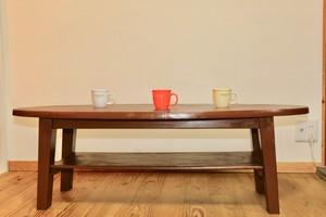 ★ 楕円形のコーヒーテーブル ★