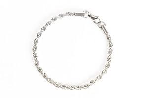 【316L twist chain bracelet】 / SILVER