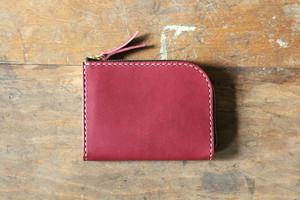 Small Wallet 〜Elbamatt〜 PURPLE L字ファスナーマルチミニウォレット