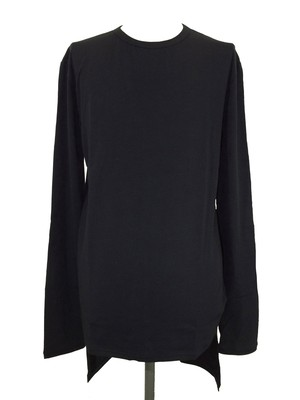 TAIL LONG SLEEVES  -BLACK-
