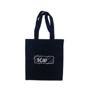 scar /////// OG LOGO MAGAZINE BAG (Navy)