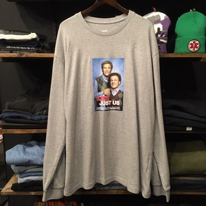 【KITH NYC×STEP BROTHERS】 -キス-ステップブラザーズ LONG SLEEVE HEATHER GREY