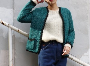 Vintage green tweed Jacket