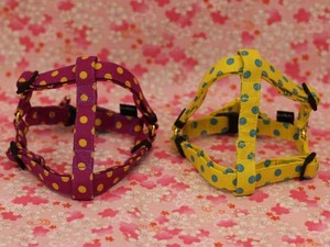 Polka Dot Harness - S(小型犬用)