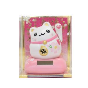 まるまる幸せ招き猫(桜)