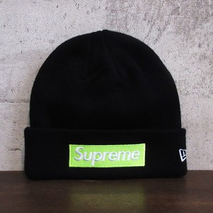 SUPREME 17AW New Era Box Logo Beanie