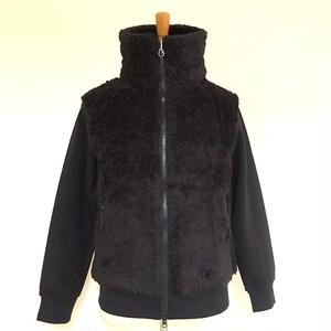 Switch Boa Zip High-Neck Jacket Black