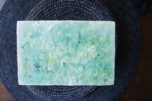 和紙の絵葉書『草むら』
