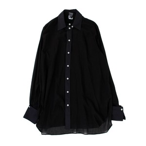ANN DEMULEMEESTER Long Black Shirt