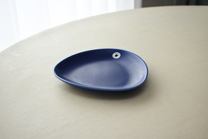 Hoganas keramik round plate(Marie-Louise Hellgren)