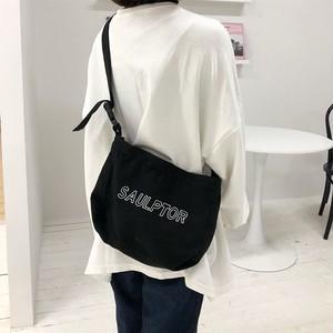 【バッグ】韓国風新作清新シンプル帆布エコバッグ