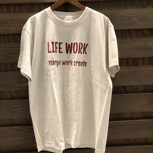 Tシャツearth color LIFE WORK  Tシャツ MM-049