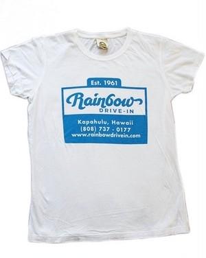 【Rainbow Drive-In】Cup Logo Lady's Tシャツ / レインボードライブイン / ハワイアン