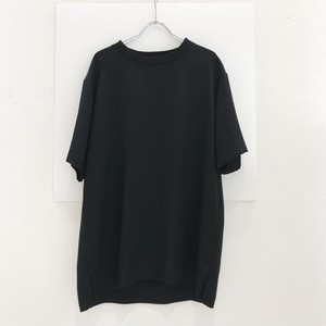 my beautiful land let back  slit Tencel tee Black