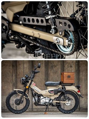 【CT000】Chain cover Diablo Custom Works For CT125