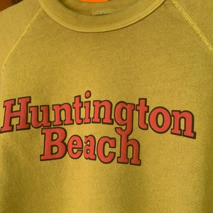"BO SPORT ""Huntington Beach"" Yellow -Sweatshirt-"
