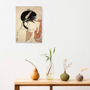素敵なアートパネル A4サイズ 扇屋花扇 喜多川歌麿