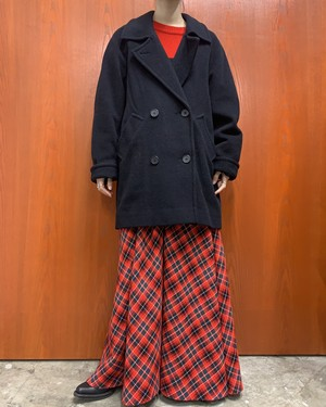 1980s KRISTEN BLAKE MADE IN USA double-breasted wool coat 【2】